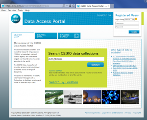 Weeds Data Access Portal FAQ1